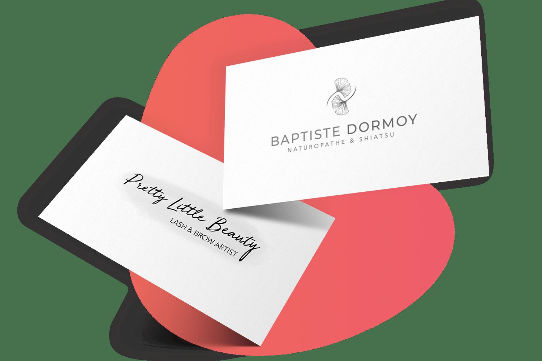 creation carte de visite et logo