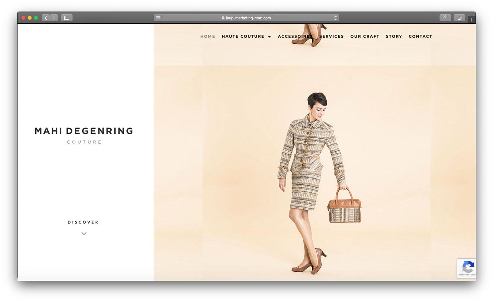 Projet Haut couture