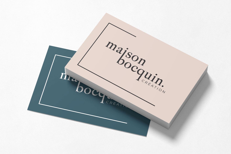 Carte de visite Maison Bocquin